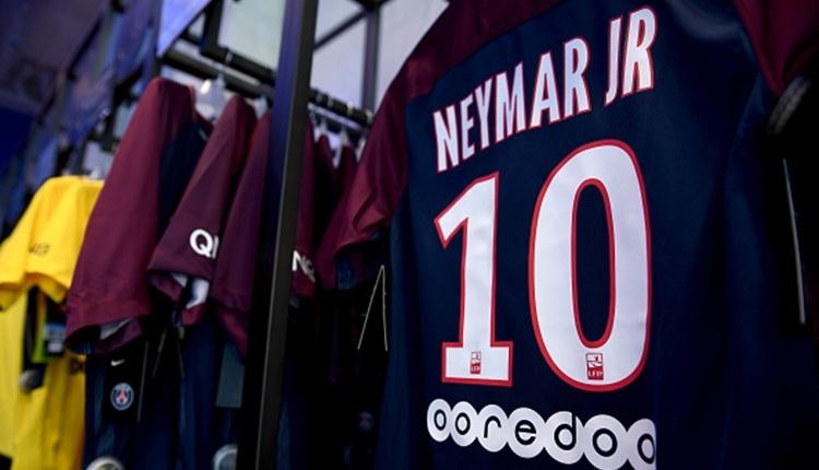PSG'ye transfer olan Neymar rekorları altüst etti!