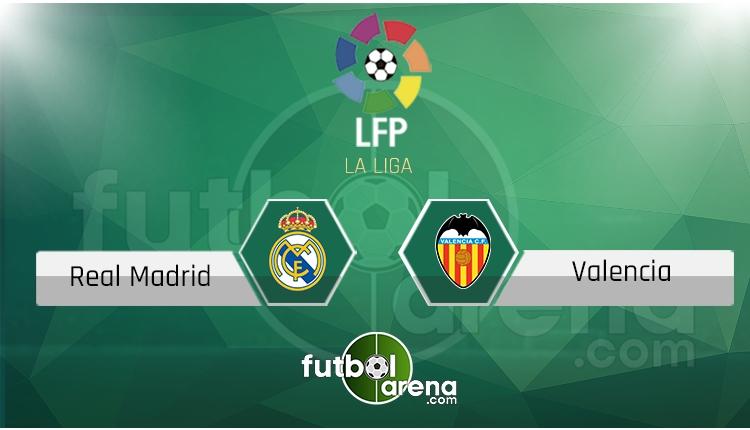 Real Madrid Valencia canlı skor, maç sonucu - Maç hangi kanalda?