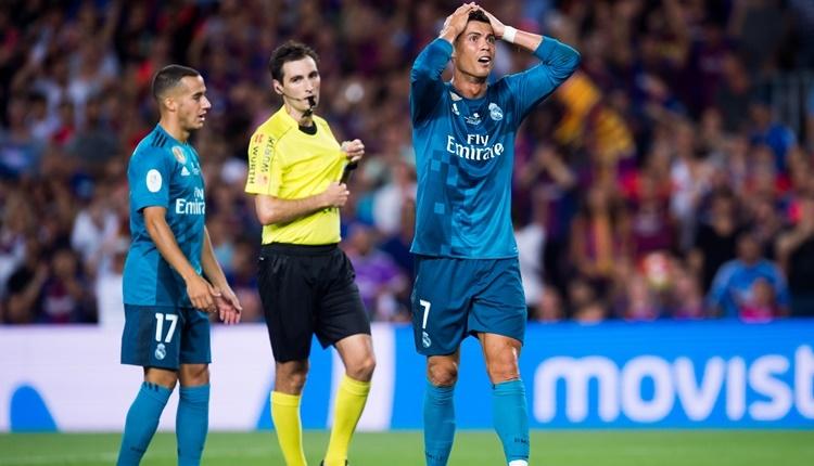 Real Madrid'te Cristiano Ronaldo'dan tepki!