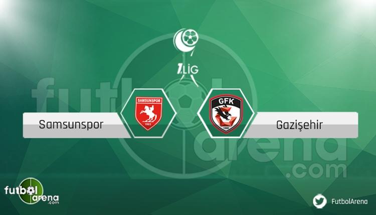 Samsunspor - Gazişehir Gaziantep maçı saat kaçta, hangi kanalda?
