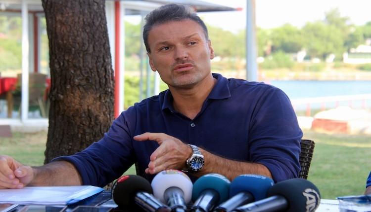 Samsunspor'da Alpay Özalan: ''Samaras, Pazartesi Samsun'da olacak''