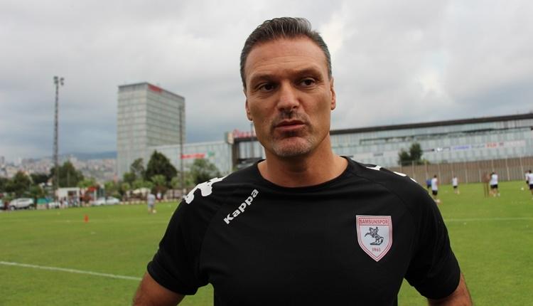 Samsunspor'da Alpay Özalan'dan transfer müjdesi