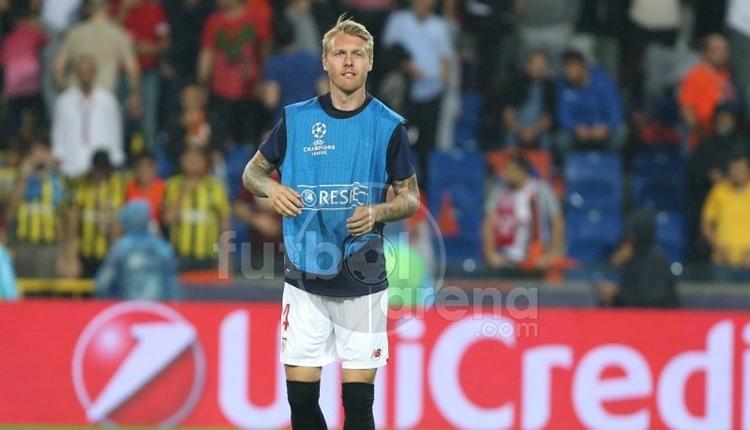 Simon Kjaer, Başakşehir - Sevilla maçında şans bulamadı
