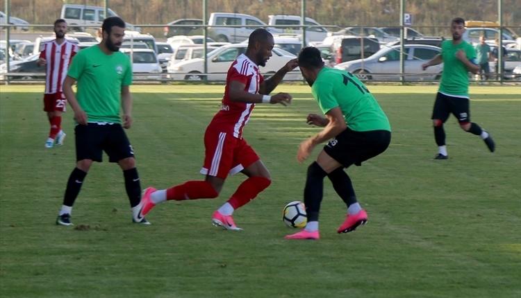 Sivasspor 3-1 Sivas Belediyespor maçı özeti ve golleri