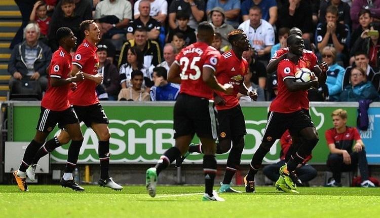 Swansea 0-4 Manchester United maç özeti ve golleri