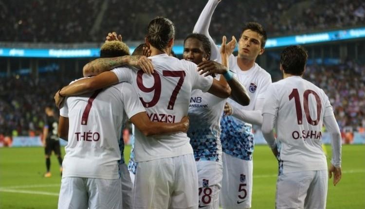 Trabzonspor 2-0 Deportivo Alaves maçı özeti ve golleri