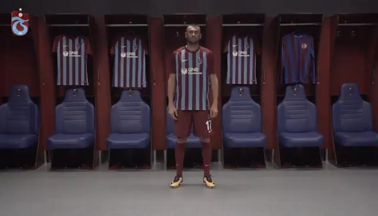 Trabzonspor, Burak Yılmaz'ı videoyla duyurdu! 'Kralın dönüşü...'