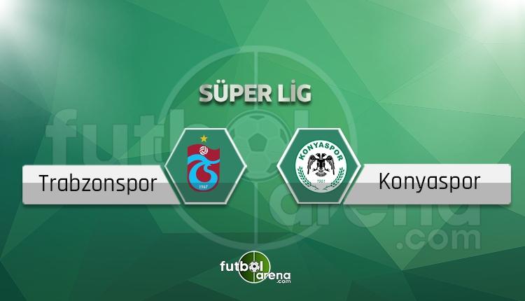 Trabzonspor Konyaspor maçı saat kaçta, hangi kanalda? Eksikler ve cezalılar