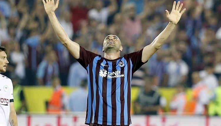 Trabzonspor - Konyaspor maçı sonrası Burak Yılmaz'dan duygusal sözler