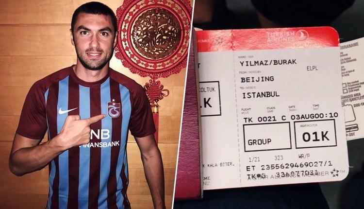 Trabzonspor yöneticisi Nevzat Aydın'dan Burak Yılmaz eleştirisi!