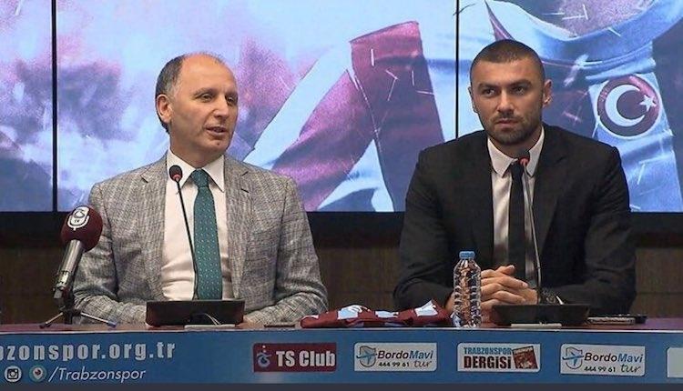 Trabzonspor'da Burak Yılmaz: ''2010 - 2011 Sezonuna takılı kalmamalıyız''