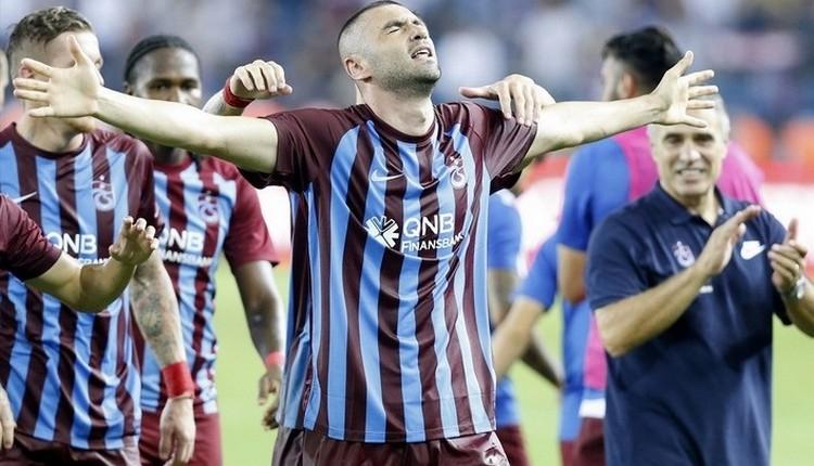 Trabzonspor'da Burak Yılmaz en iyi başlangıcını yaptı