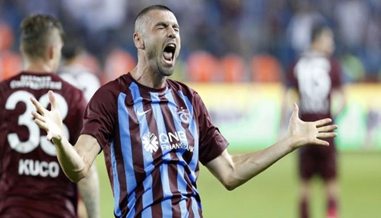 Trabzonspor'da Burak Yılmaz, Fenerbahçe'yi seviyor