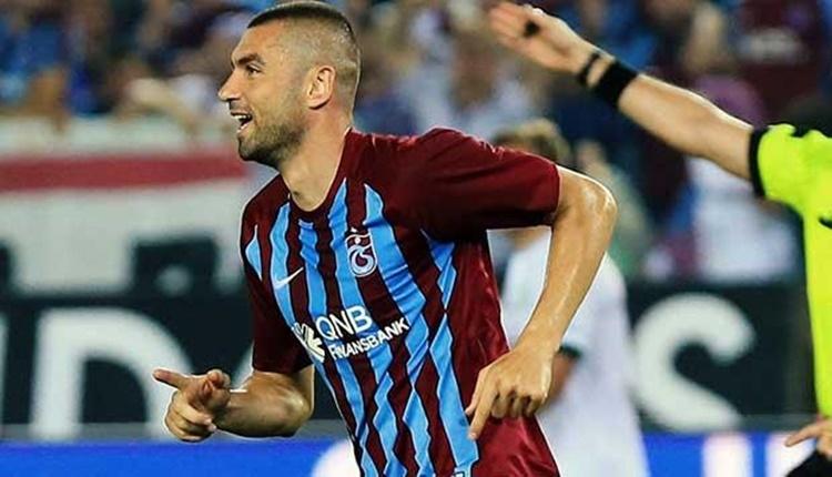 Trabzonspor'da Burak Yılmaz'dan Edirnespor'a destek