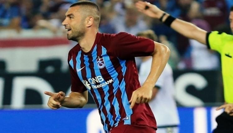 Trabzonspor'da Ersun Yanal'dan Burak Yılmaz'a özel görev