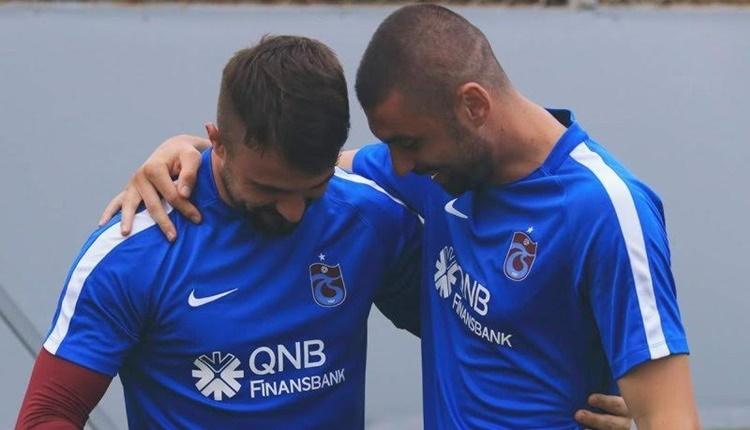 Trabzonspor'da yeni transfer Burak Yılmaz'ın ilk antrenmanı