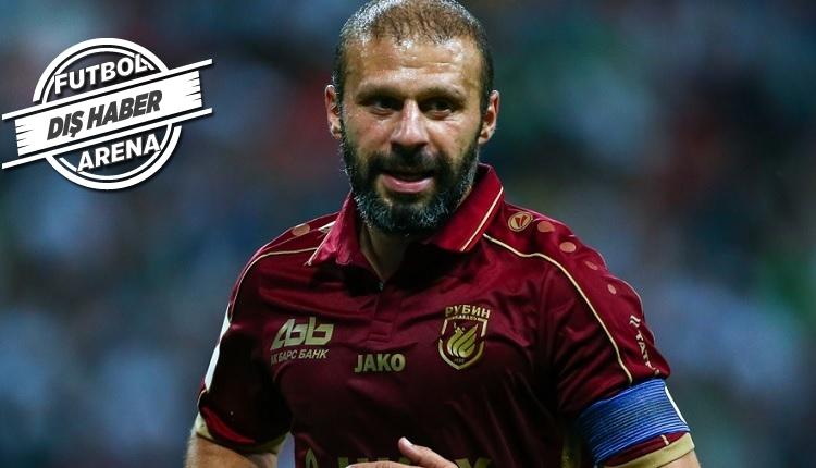 Trabzonsporlu eski futbolcu Gökdeniz Karadeniz, Rubin tarihine geçti