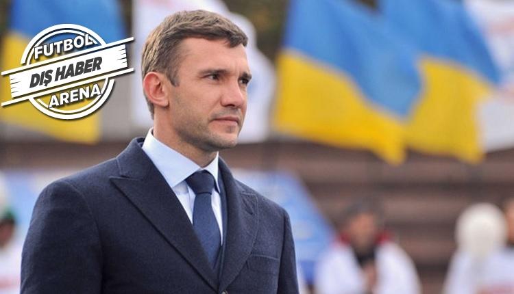 Ukrayna'da Shevchenko'dan Arda Turan ve Lucescu sözleri
