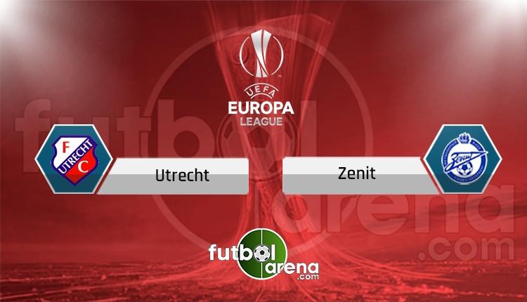 Ultrecht - Zenit maçı şifresiz canlı izle