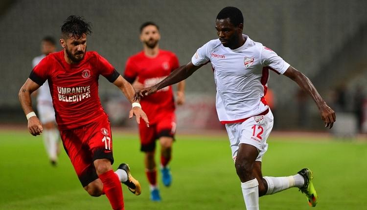 Ümraniyespor 1-0 Boluspor maç özeti ve golü (İZLE)