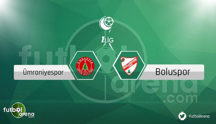 Ümraniyespor - Boluspor maçı saat kaçta, hangi kanalda? Sakat, cezalı oyuncular