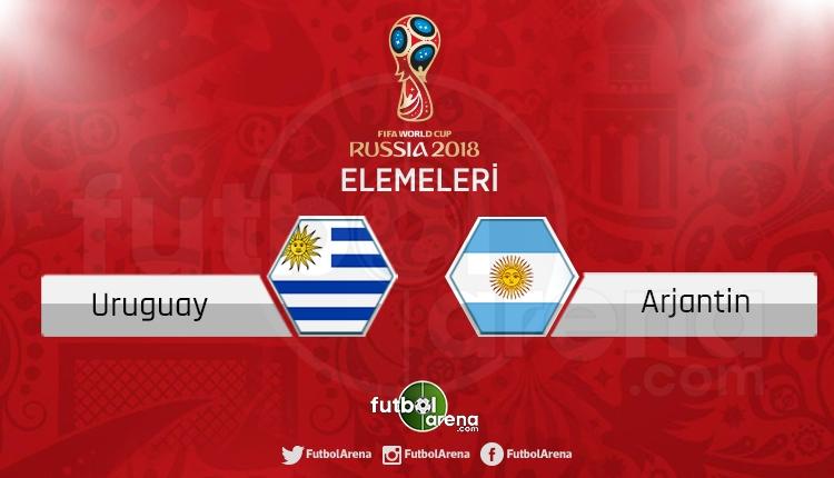 Uruguay Arjantin canlı skor, maç sonucu - Maç hangi kanalda?