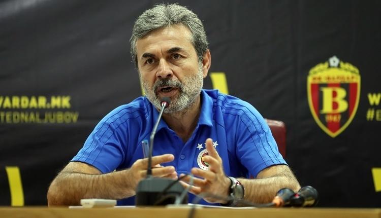 Vardar - Fenerbahçe maçında Aykut Kocaman'dan sürpriz