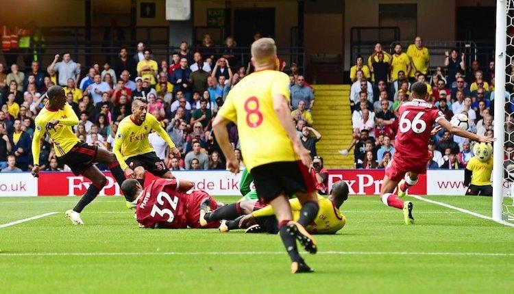 Watford 3-3 Liverpool maçı özeti ve golleri (İZLE)
