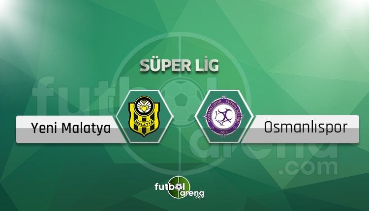 Yeni Malatyaspor Osmanlıspor maçı saat kaçta, hangi kanalda? Eksikler ve cezalılar