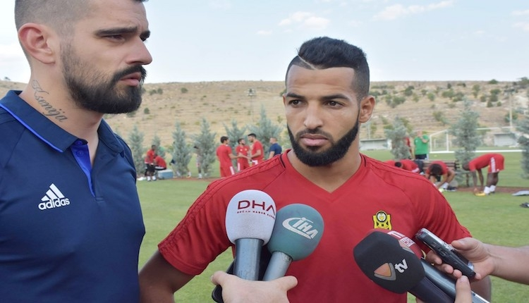 Yeni Malatyaspor'da Issam Chebake ve Khalid Boutaib'den açıklamalar