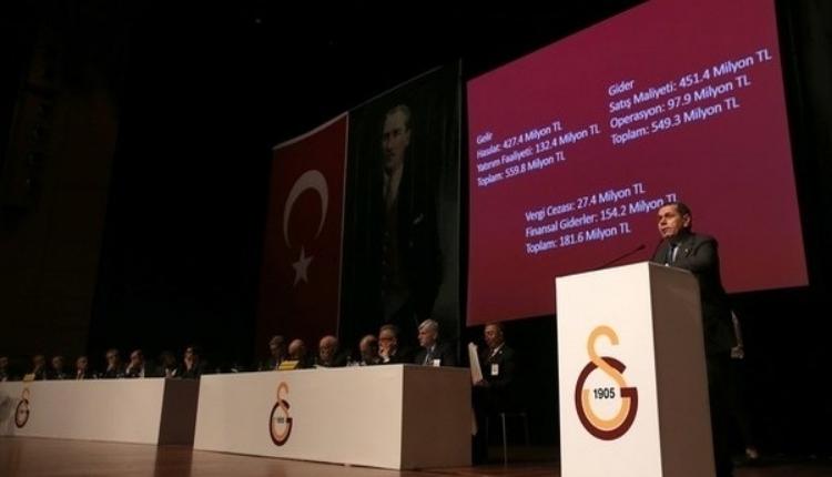 Galatasaray'ın toplam borcu açıklandı