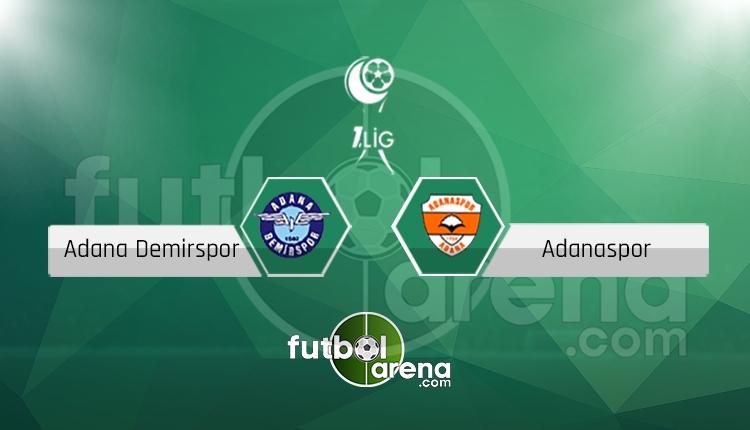 Adana Demirspor Adanaspor canlı skor, maç sonucu - Maç hangi kanalda?
