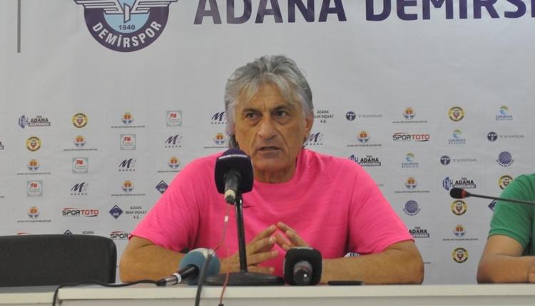 Adana Demirspor - Adanaspor derbi sonu Giray Bulak ve Kemal Kılıç'ın açıklamaları