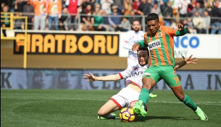Alanyaspor Junior Fernandes transferini bitirdi