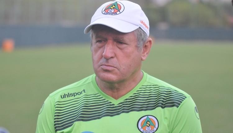 Alanyaspor'da Safet Susic'ten Fenerbahçe'ye gözdağı