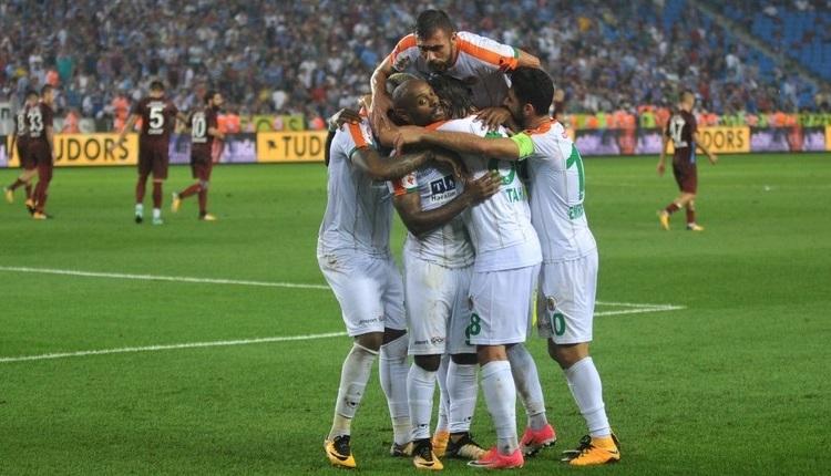 Alanyaspor'da Vagner Love'dan Trabzonspor'a 3 gol, tarihi performans