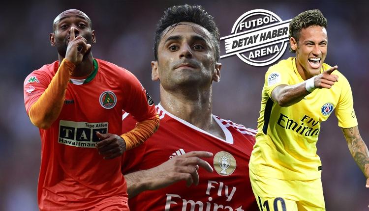 Alanyasporlu Vagner Love dünya futbolunu sallıyor! Neymar...