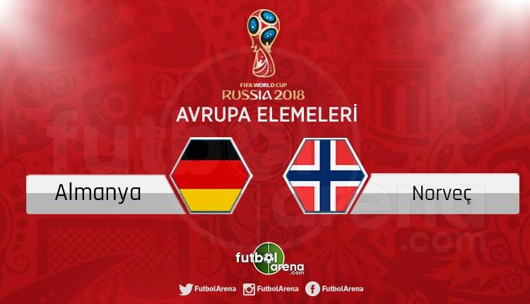 Almanya Norveç canlı skor, maç sonucu - Maç hangi kanalda?
