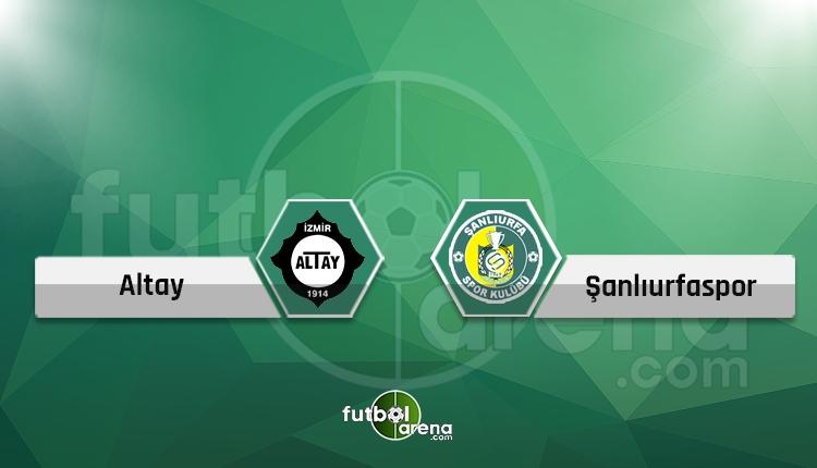 Altay - Şanlıurfaspor canlı skor, maç hangi kanalda?