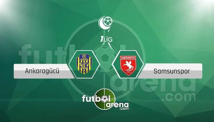 Ankaragücü Samsunspor canlı skor, maç sonucu - Maç hangi kanalda?