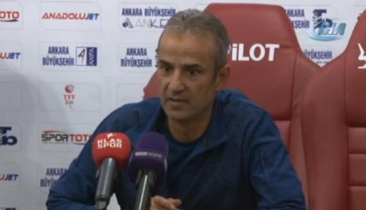 Ankaragücü'nde İsmail Kartal'dan maç sonu iddialı sözler!