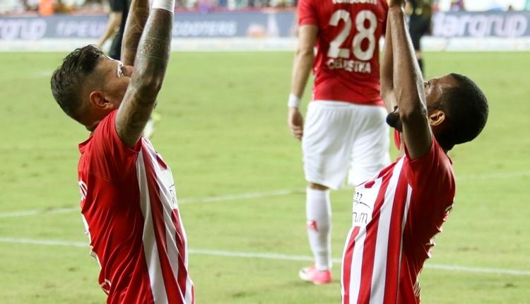 Antalyaspor 3-0 Osmanlıspor maç özeti ve golleri (İZLE)