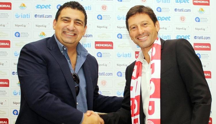 Antalyaspor'da Ali Şafak Öztürk'ten Rıza Çalımbay ve Eto'o itirafları