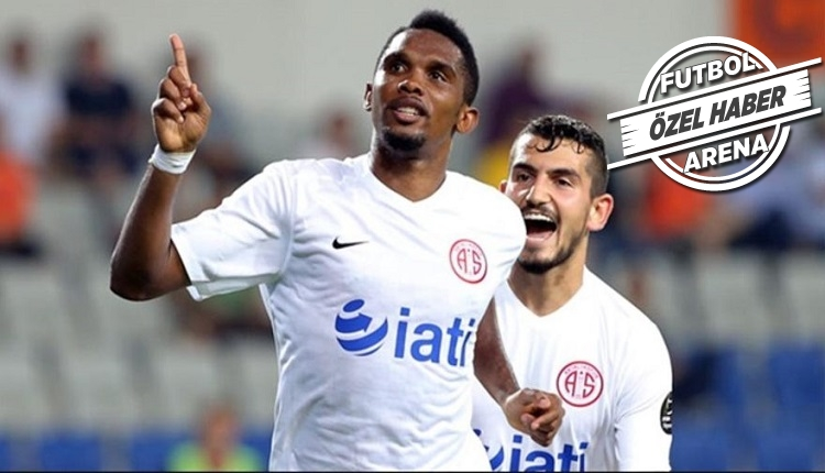 Antalyaspor'da Eto'o'yu asıl huzursuz eden sebep