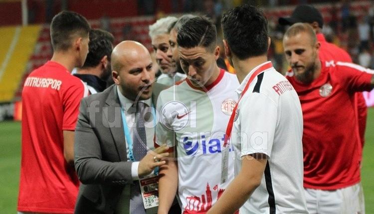 Antalyaspor'da Nasri'yi Kayserispor maçı sonu zor tuttular