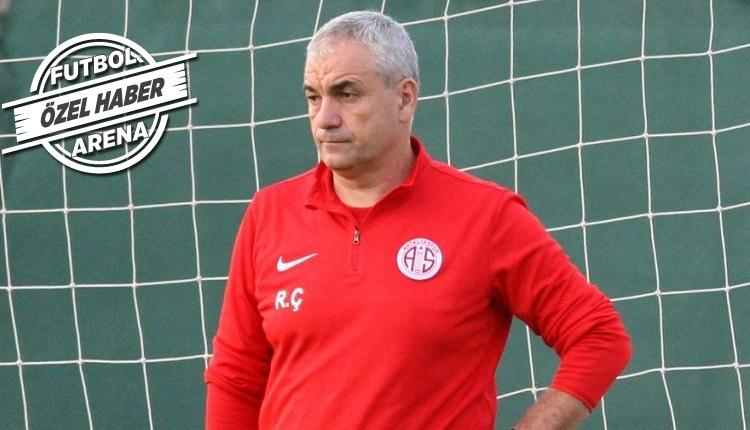 Antalyaspor'da Rıza Çalımbay'ın yerine yeni teknik direktör mü gelecek?