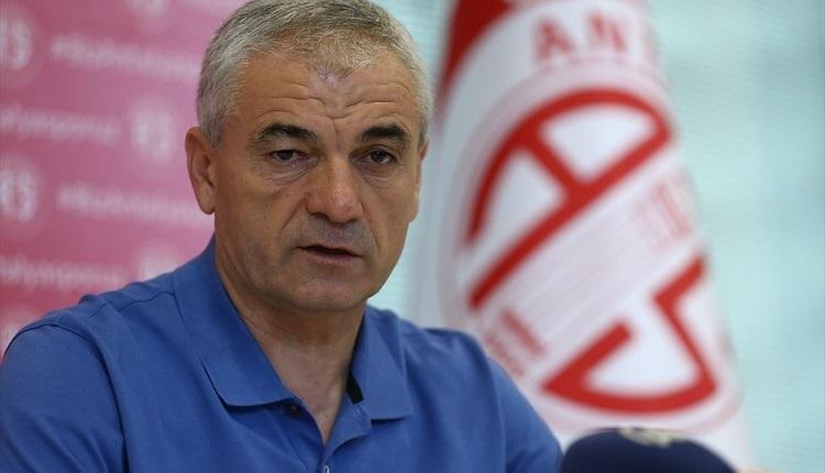 Antalyaspor'dan ayrılan Rıza Çalımbay konuştu: 'Kırgınlığım yok'