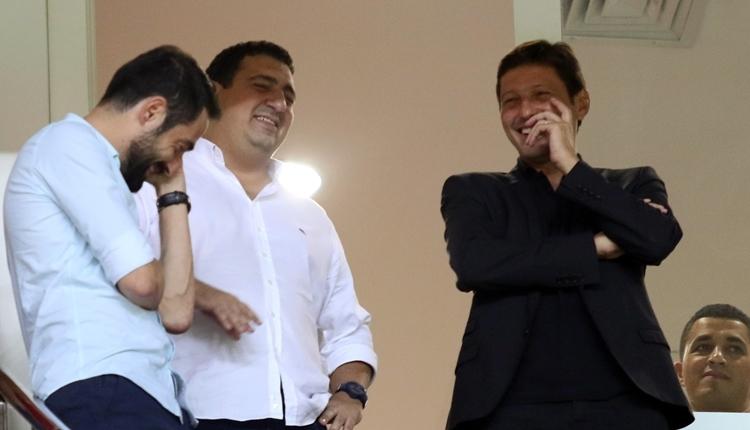 Antalyaspor'un yeni hocası Leonardo, Osmanlıspor maçını izledi
