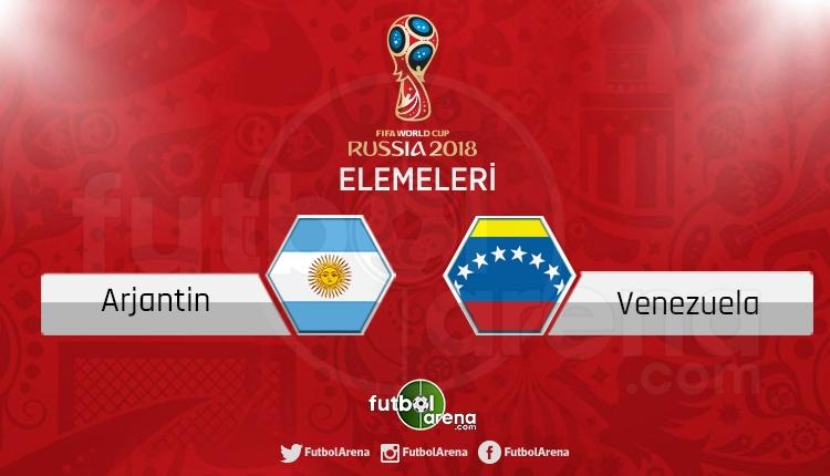 Arjantin Venezuela canlı skor, maç sonucu - Maç hangi kanalda?