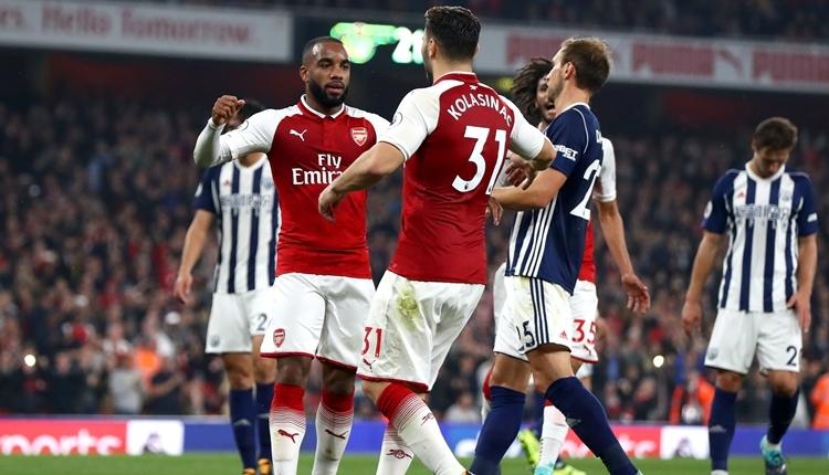 Arsenal 2-0 West Bromwich maç özeti ve golleri (İZLE)